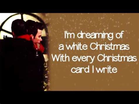turn down the lights christmas song lyrics glee white lyrics