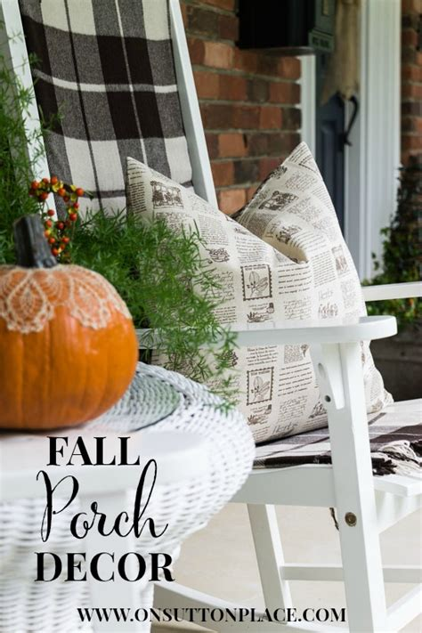 september decorating ideas fall porch decor ideas on sutton place