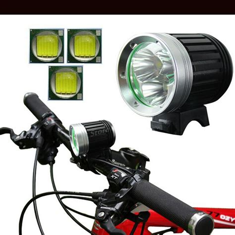rechargeable led bike lights 5000lumens rechargeable led bike lights 3x t6 led front