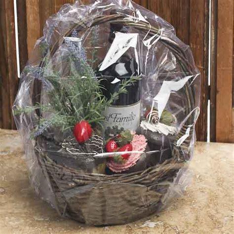 shrink wrap gift baskets clear shrink wrap bag for gift basket gift bags favor