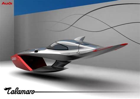 Audi Flying Car by World Of Cars Audi Calamaro Flying Car