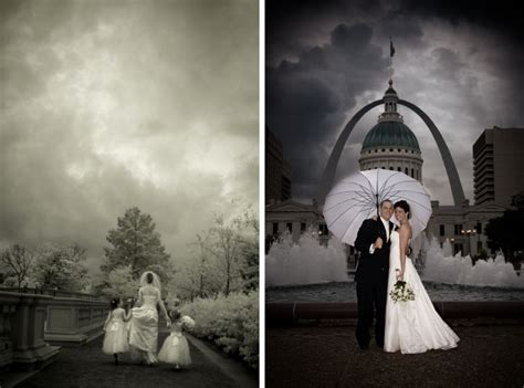 St. Louis Missouri Wedding :: Beautiful Rainy Day Photography