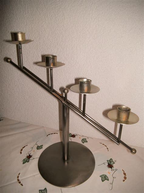 kerzenhalter eisen kerzenhalter treppe eisen f 252 r 4 stabkerzen