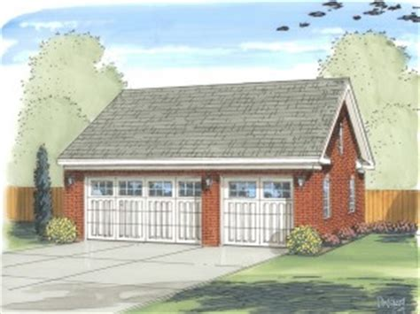 g433 30 x 30 detached garage with bonus truss sds plans 129 30 x detached garage with bonus truss 2 rv plans