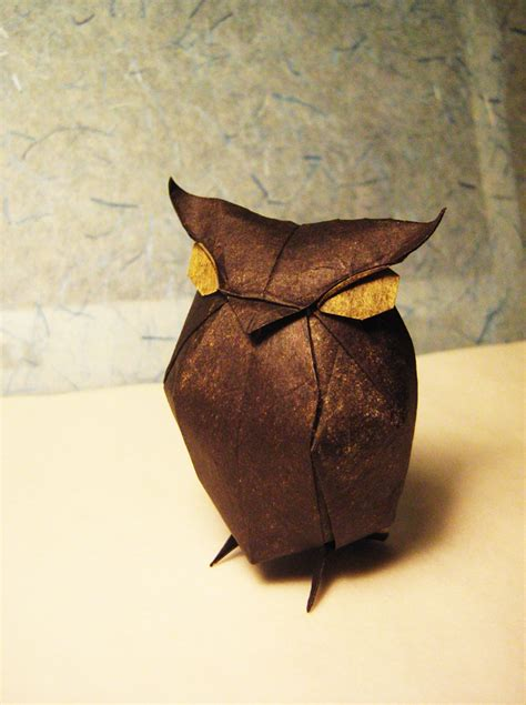 The Origami Owl - 40 beautiful exles of origami artworks