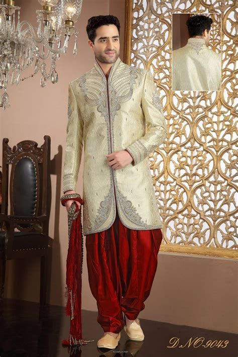 Groom Wedding day Sherwani Collection   XciteFun.net
