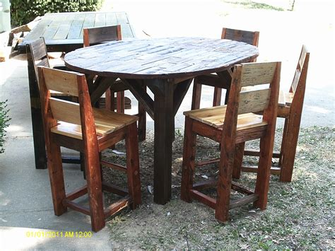 Rustic Bistro Table And Chairs Rustic Bistro Table And Chairs Best Home Design 2018