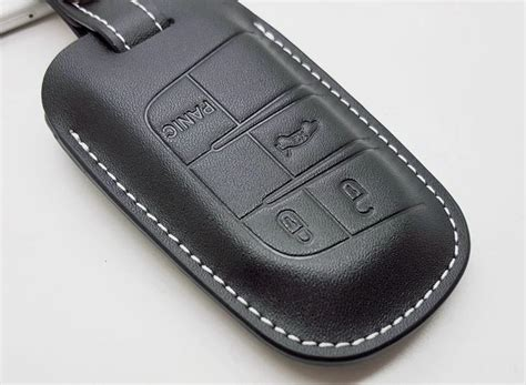 Jeep Key Cover 2017 Leather Car Key Fob Cover For Jeep Grand