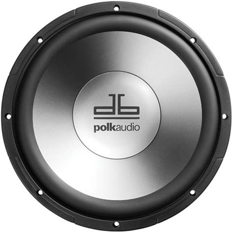 Speaker Subwoofer Single Coil polk audio db1040dvc 10 inch dual voice coil subwoofer