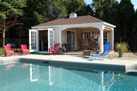 small pool house plans governor s series cottage pool house grand victorian