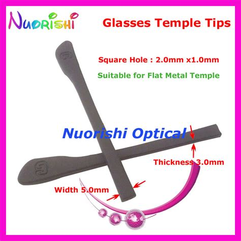 get cheap rubber temple tips for glasses