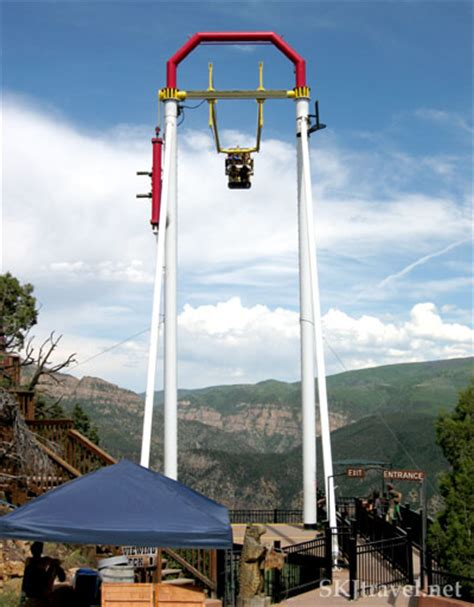 big swing ride my own backyard glenwood springs steamboat springs co