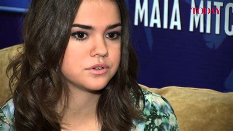 why does mia mitchell have a scar on her forehead today talks to maia mitchell youtube