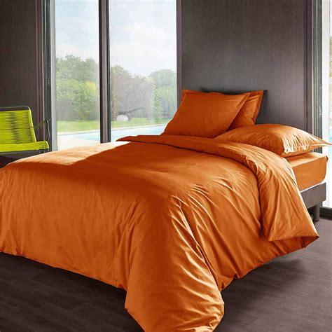 Housse De Couette Orange by Housse De Couette Violette Avec Housse Couette Orange