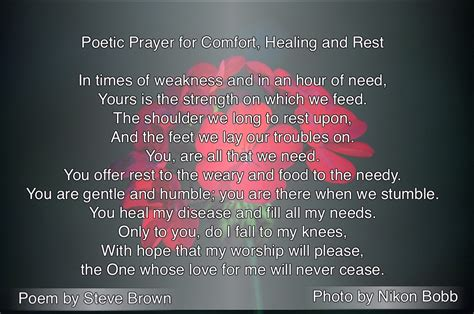 prayers of comfort and healing poetic prayer for comfort healing and rest seated above
