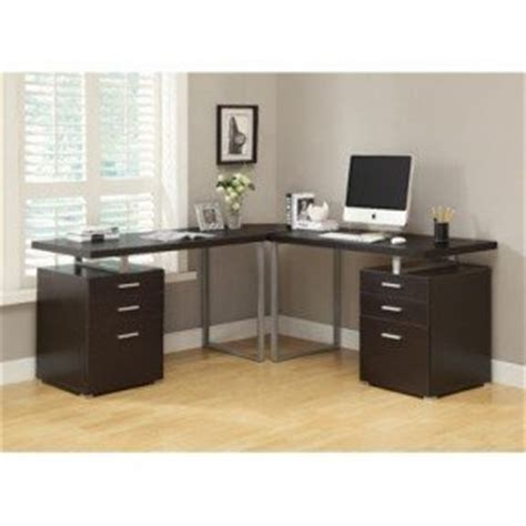 l shaped glass desk with drawers l shaped glass desk with drawers foter