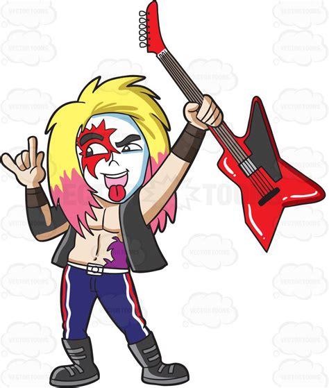 superstar clipart a glam rock superstar clipart vector