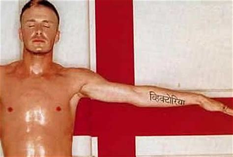 beckham tattoo victoria hindi celebrity tattoos david and victoria beckham artbody