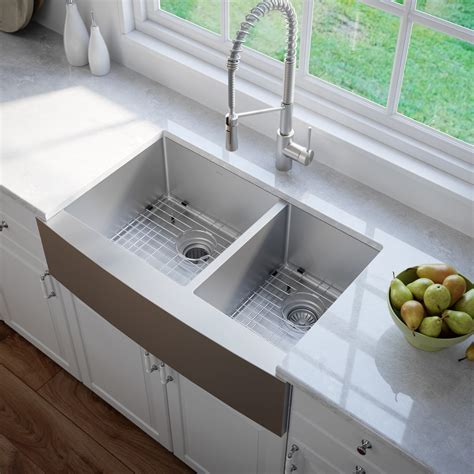 Stainless Steel Kitchen Sinks   KrausUSA.com