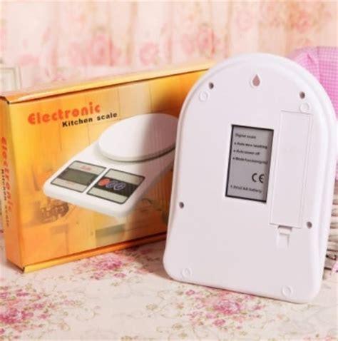 Timbangan Digital Bb jual timbangan dapur digital sf 400 baterai bibit