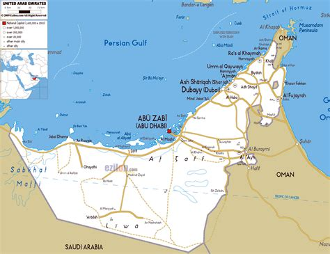 map of the united arab emirates maps of united arab emirates detailed map of uae in