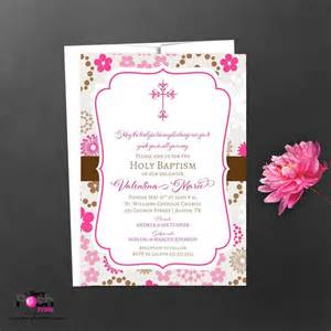 baby shower christening invitation card sle card invitation templates card invitation
