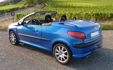 peugeot 206 cc peugeot 206 generations technical specifications and fuel