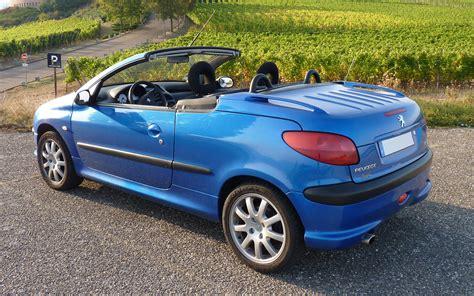 peugeot 206 cc peugeot 206 cc 1 6 109 hp