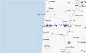 depoe bay oregon tide station location guide