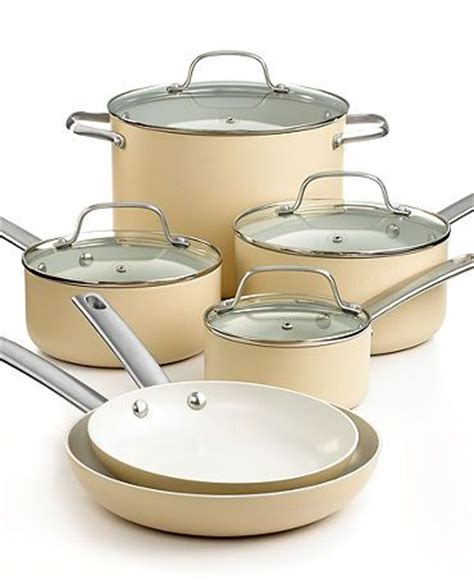 martha stewart kitchen canisters martha stewart collection ceramic cookware 10 set