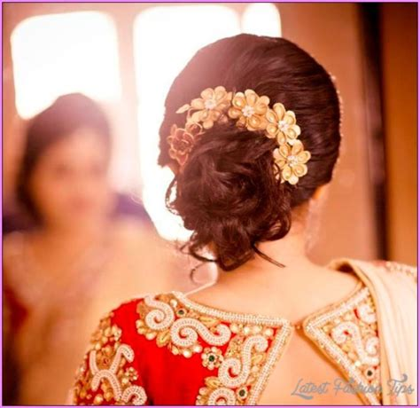 Indian Wedding Hairstyles With Veil by Bridal Hairstyles Hindu Marriage Latestfashiontips
