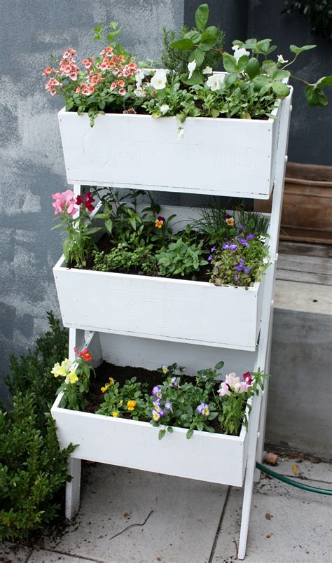 Flower Box Planter by Wooden Planter Box