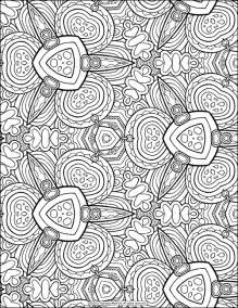 coloring templates for adults free colouring page pinteres