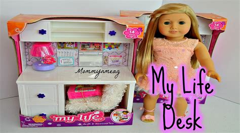 my life doll desk my life as quot desk and accessories quot perfect for american