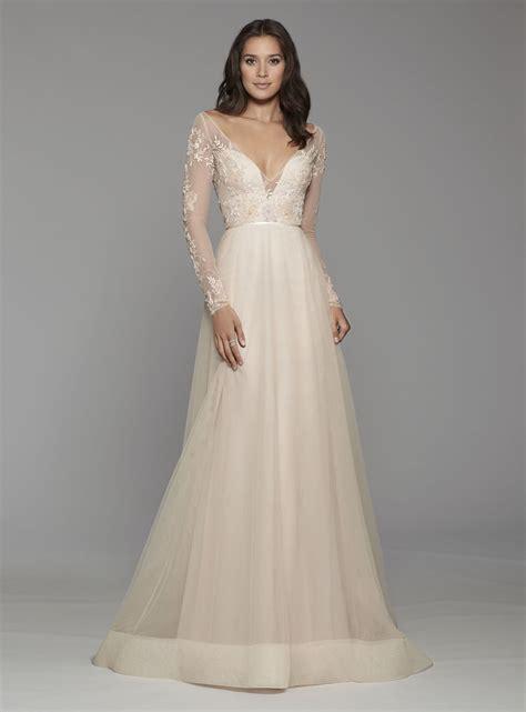 A Line Wedding Gowns by 33708405 Bohemian A Line Wedding Dress Kleinfeld Bridal