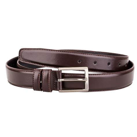 cognac leather belt brown dress s waist belts silver