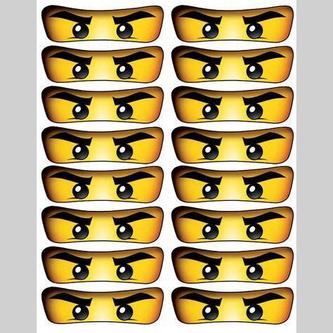 printable ninjago eyes free printable ninjago eyes niver dimi 07 anos