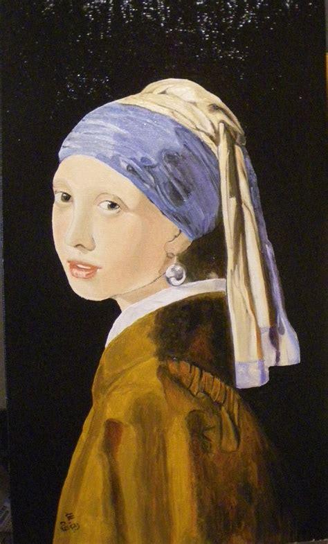 la ragazza con la 8823518350 la ragazza con l orecchino di perla daniela mezzadri artwork celeste prize