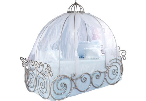 carriage canopy bed disney princess metal 4 pc full carriage bed beds metal