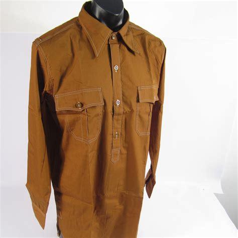 Ss Brown ss and sa brown service shirt