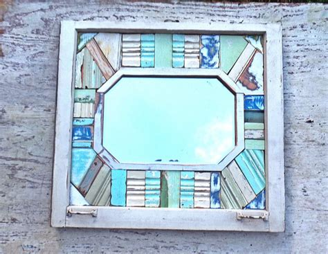 Handcrafted Wall - handmade mosaic mirror wall decor mosaic mirror wall