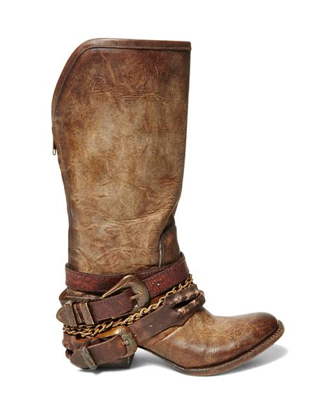 free bird boots freebird by steven boots in brown lyst