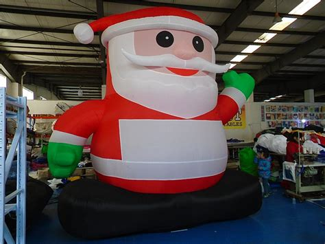 santa in a boat inflatable inflatable santa claus for sale santa claus outdoor