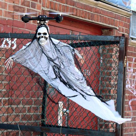 Drone Ghost best prank this 175 drone flies around looking like the grim reaper
