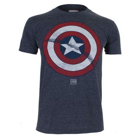 Kaos Anime Heroes Captain America Special T Shirt Keg Cap 01 marvel captain america schild herren t shirt dunkelblau