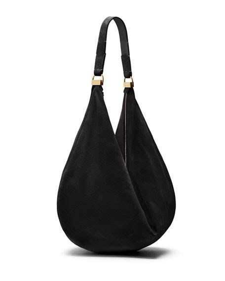 Castro Suede Sling Bag the row sling 12 suede hobo bag