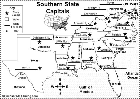 us map quiz spelling southern states and capitals