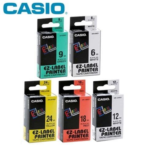 Label Printer Casio 9mm casio label cartridge xr 9 9mm
