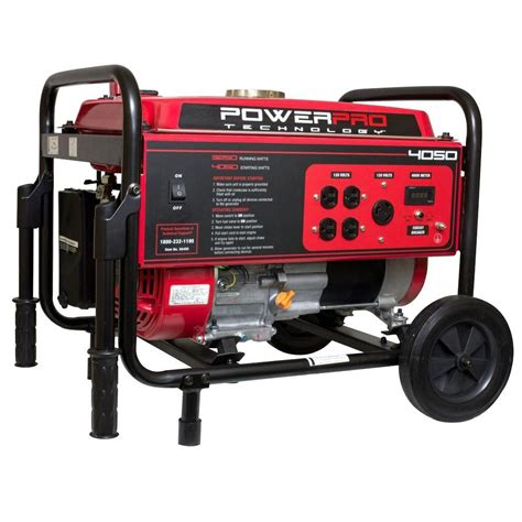 power pro technology 3 250 watt gasoline powered portable