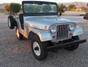 1963 jeep willys cj5 silver like new condition for sale